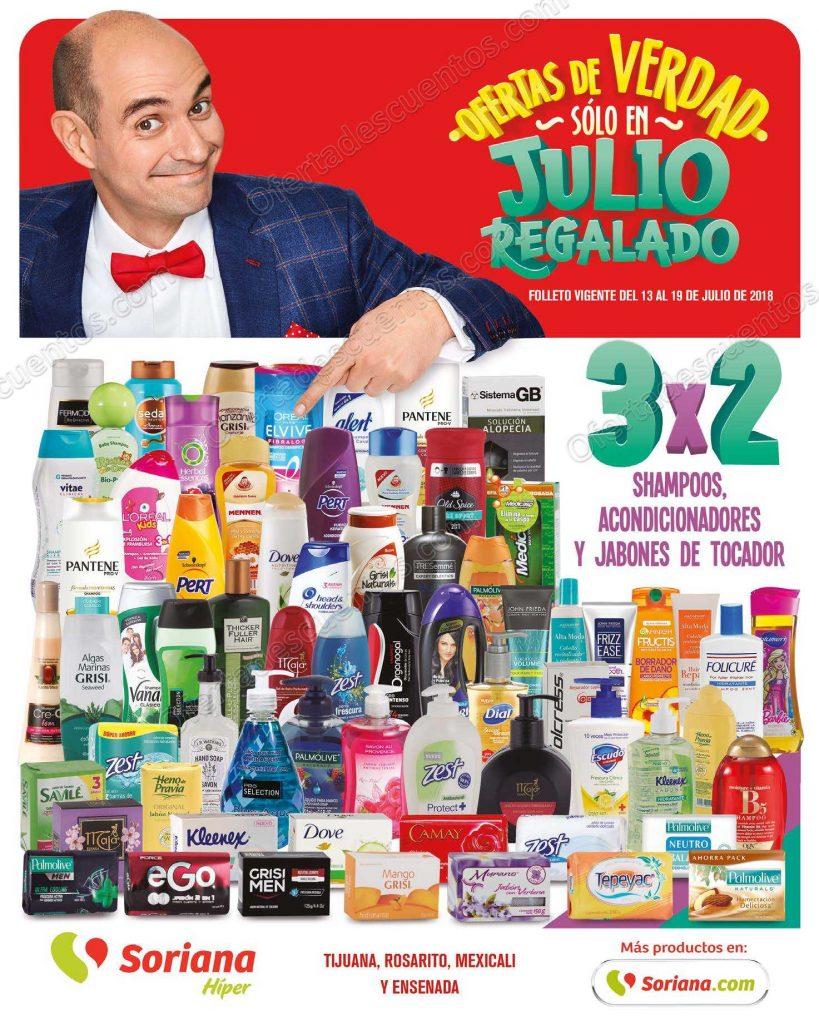 Folleto de Ofertas Julio Regalado 2018 del 13 al 19 de Julio