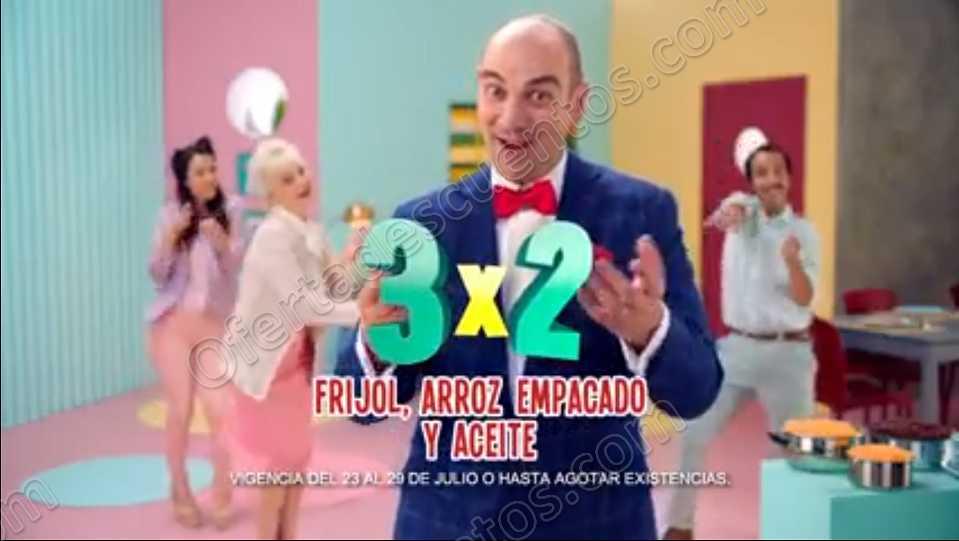 Julio Regalado 2018: 3×2 en Todo Arroz Empacado, Frijol y Aceite