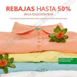 United Colors Of Benetton: Rebajas Hasta 50% de Descuento