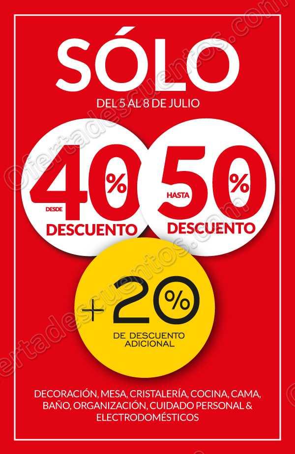 The Home Store: Hasta 50% de Descuento + 20% Adicional