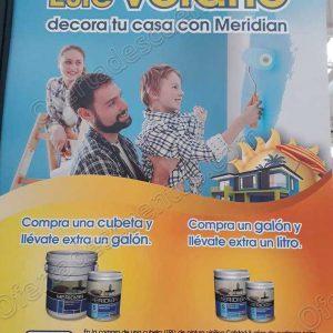 Chedraui: Galón o Litro de Pintura Meridian Gratis