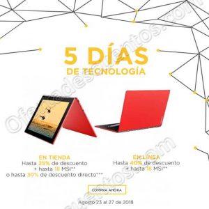 Palacio de Hierro: 5 Días de Tecnología del 23 al 27 de agosto 2018