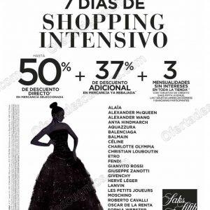 7 Días de Shopping Saks Fifth Avenue: Hasta 50% de descuento