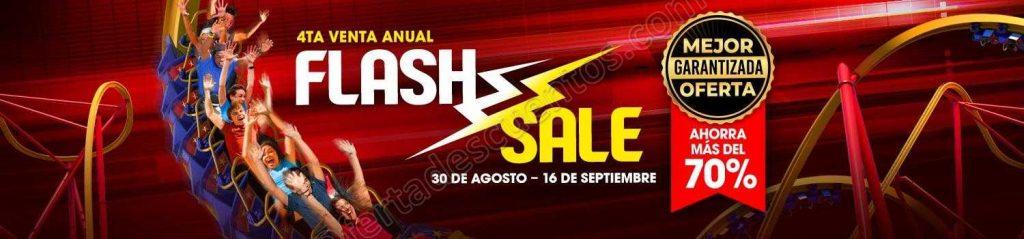 Flash Sale Six Flags: 70% de descuento en Pase Anual Gold 2019