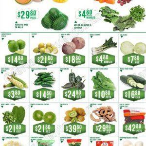 Frutas y verduras Soriana 14 y 15 de Agosto 2018