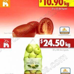Frutas y Verduras Chedraui 21 y 22 de Agosto 2018