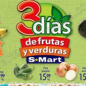 Frutas y Verduras S-Mart 29 y 30 de Agosto 2018