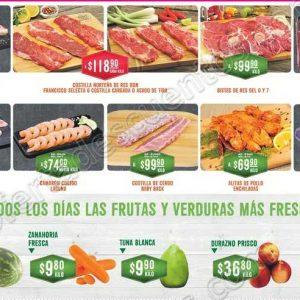 Ofertas en Carnes, Frutas y Verduras Soriana del 17 al 20 de Agosto 2018