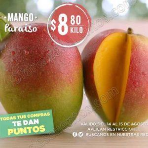 Frutas y Verduras Mega Soriana 14 y 15 de Agosto 2018