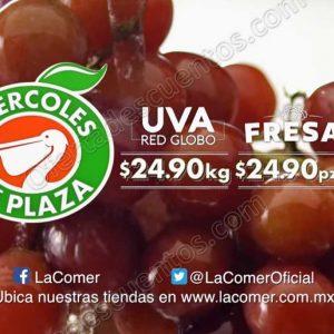 Frutas y Verduras Miércoles de Plaza La Comer 15 de Agosto 2018