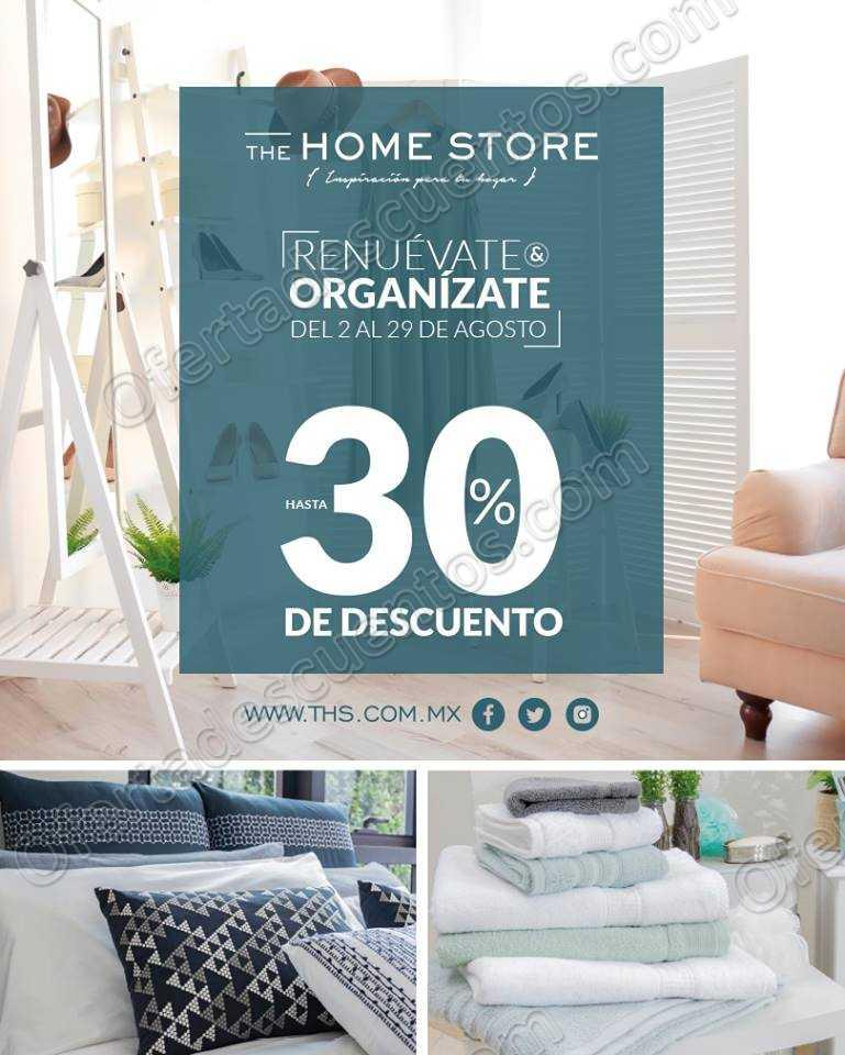 The Home Store: Renuévate y Organízate con hasta 30% de descuento