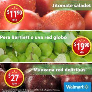 Martes de Frescura Walmart 21 de Agosto 2018