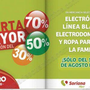 MEGA Soriana: Hasta 70% de descuento en Electrónica, Ropa, Línea Blanca y más
