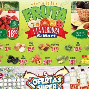 Frutas y Verduras S-Mart del 21 al 23 de agosto 2018