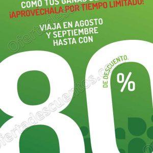 VivaAerobus: Outlet hasta 80% de descuento en Vuelos del 14 al 17 de Agosto 2018
