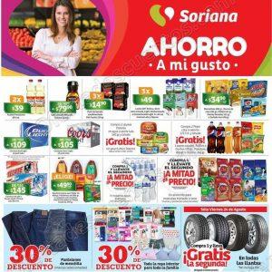 Soriana: Promociones de fin de semana del 24 al 27 de Agosto 2018