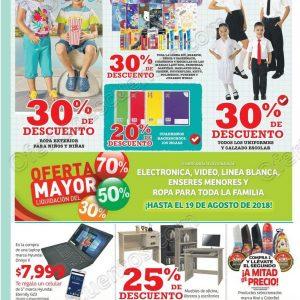 Soriana: Promociones de fin de semana y regreso a clases del 17 al 20 de agosto 2018