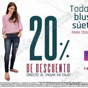 Suburbia: 20% de descuento en todas las blusas y suéteres para toda la familia y más