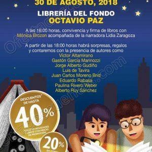 Gran Venta Nocturna Fondo de Cultura Económica 30 de Agosto 2018