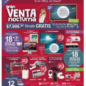 Gran Venta Nocturna Office Depot 30 de Agosto 2018
