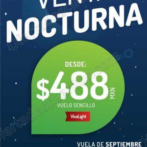 Venta Nocturna VivaAerobus del 24 al 27 de Agosto 2018