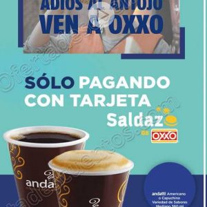 OXXO: Café a $10 con Tarjeta Saldazo