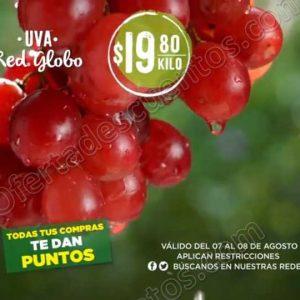Frutas y Verduras Mega Soriana 7 y 8 de Agosto 2018