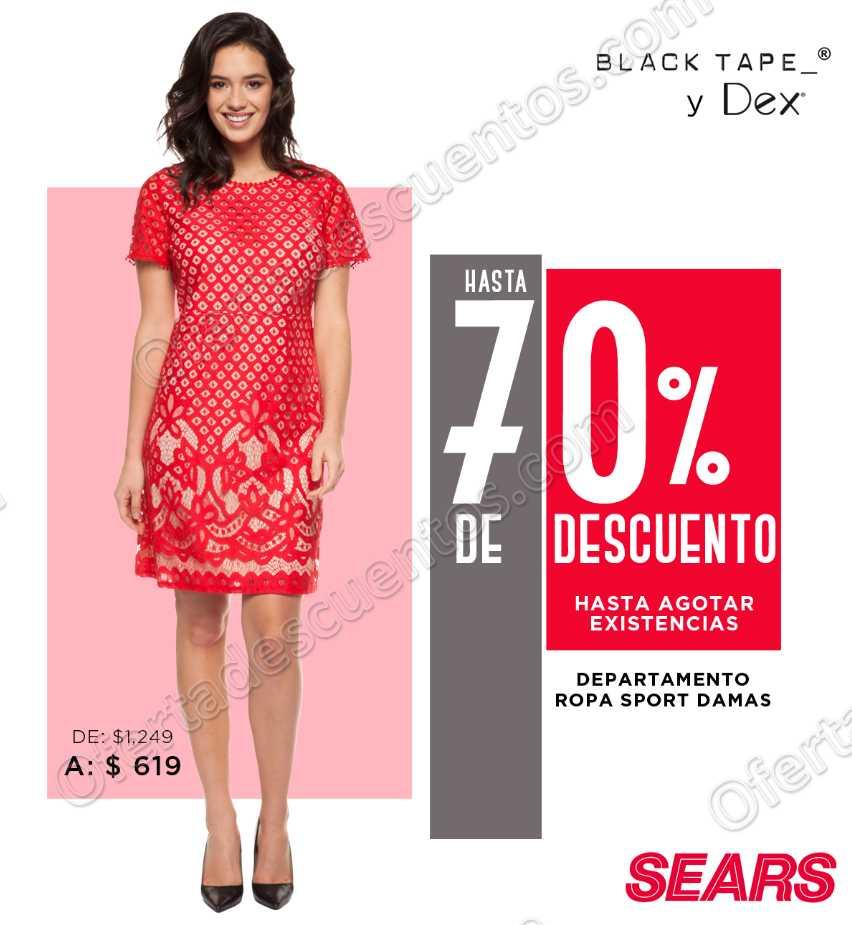 Sears: Hasta 70% de Descuento en Departamento Ropa Sport Para Dama