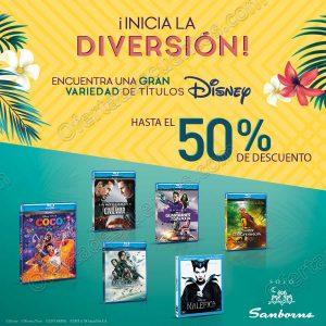 Sanborns: 2×1 en Películas Disney