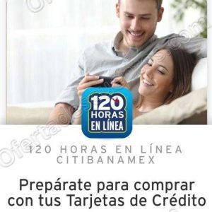 120 Horas Citibanamex Online del 24 al 28 de Septiembre 2018