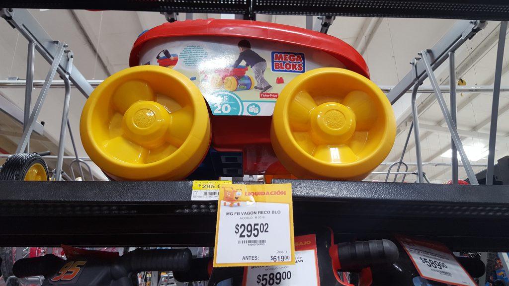 Walmart: Vagón recoge bloques Fisher Price de $619 a $295 y más