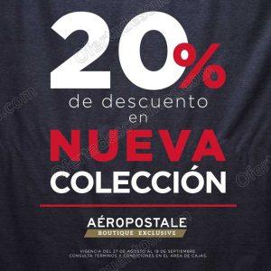 Aéropostale: 20% de descuento en Nueva Colección Otoño