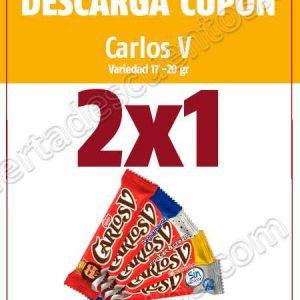 Oxxo: Cupón 2×1 en chocolates Carlos V
