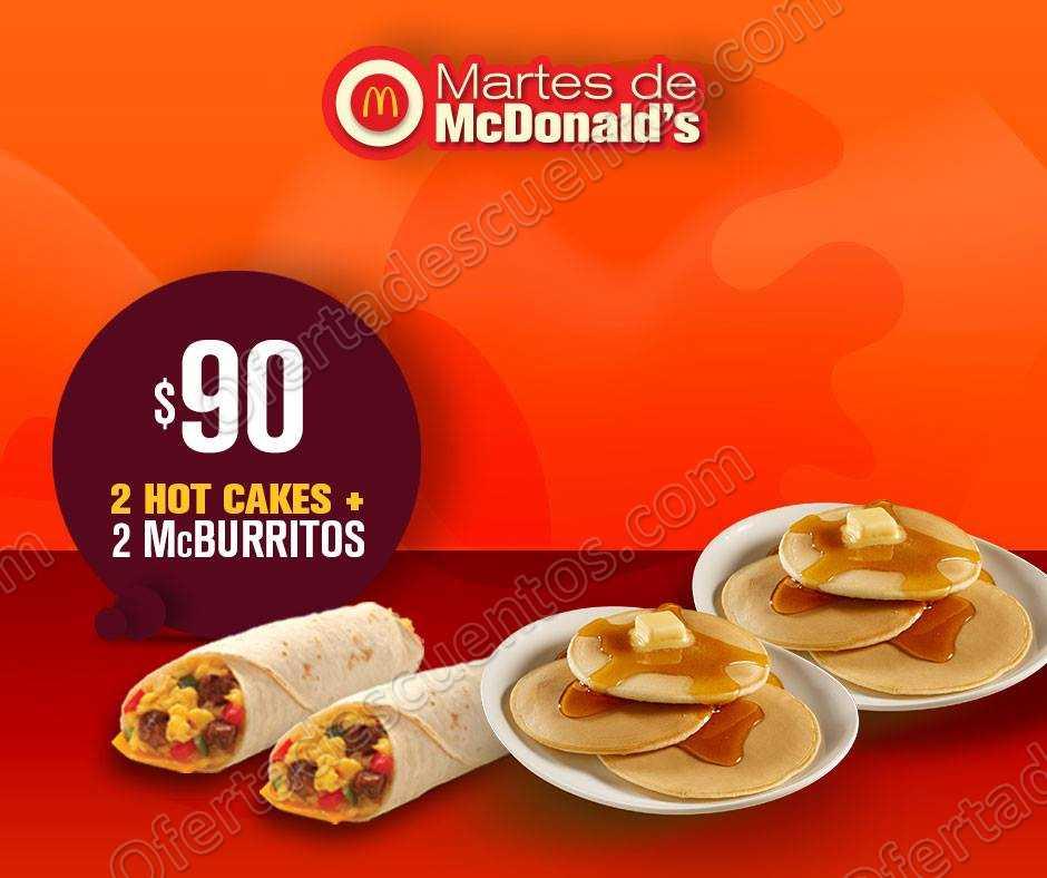 Cupones Martes de McDonald's 4 de Septiembre 2018