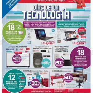 Días de la Tecnología Office Depot 12 y 13 de Septiembre 2018