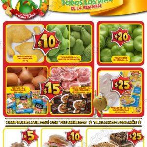 Frutas y Verduras Bodega Aurrerá del 21 al 27 de Septiembre 2018