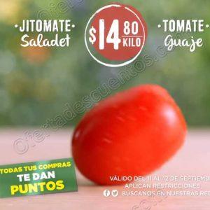 Frutas y Verduras Mega Soriana 11 y 12 de Septiembre 2018