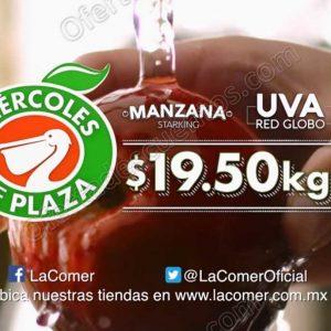 Frutas y Verduras Miércoles de Plaza La Comer 26 de Septiembre 2018