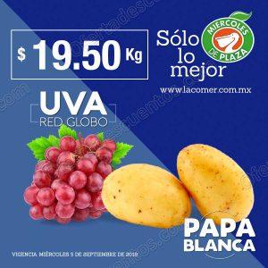 Frutas y verduras Miércoles de Plaza La Comer 5 de Septiembre 2018