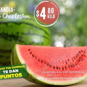 Frutas y Verduras Mega Soriana 4 y 5 de Septiembre 2018