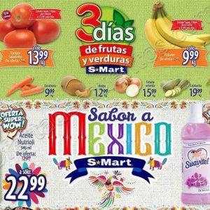 3 Días de Frutas y Verduras S-Mart del 18 al 20 de Septiembre 2018
