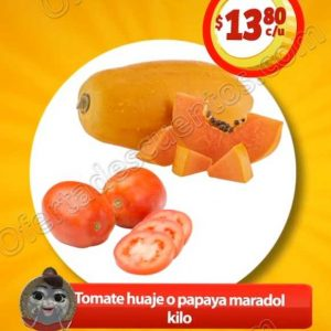 Frutas y Verduras Soriana Mercado del 25 al 27 de Septiembre 2018
