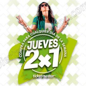 Ticketmaster: Jueves al 2×1 en Zoé, Aleks Syntek, Carlos Rivera y más 20 de Septiembre 2018