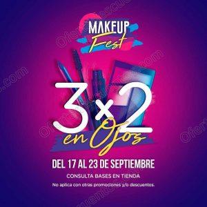 Makeup Fest Bellisima: 3×2 en maquillaje para ojos