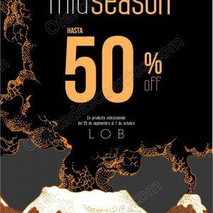 LOB: Mid Season hasta 50% de descuento en artículos de temporada