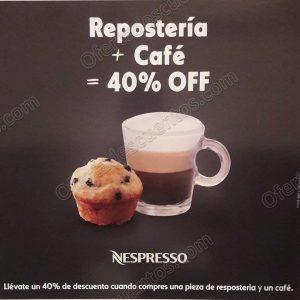 Häagen Dazs: 40% de descuento en repostería y café