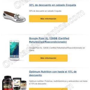 Amazon: Oferta del día 30% de descuento en calzado Coqueta y más