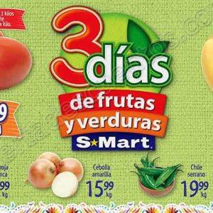 Tres Días de Frutas y verduras S-Mart del 4 al 6 de Septiembre 2018