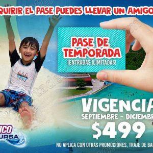 Aquatico Inbursa: Compra Pase de temporada y obtén visitas ilimitadas+Entradas Gratis para un amigo