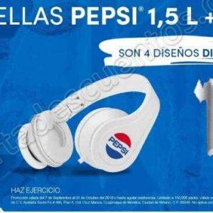 Pepsi: Audífonos Gratis en la compra de 2 refrescos Pepsi